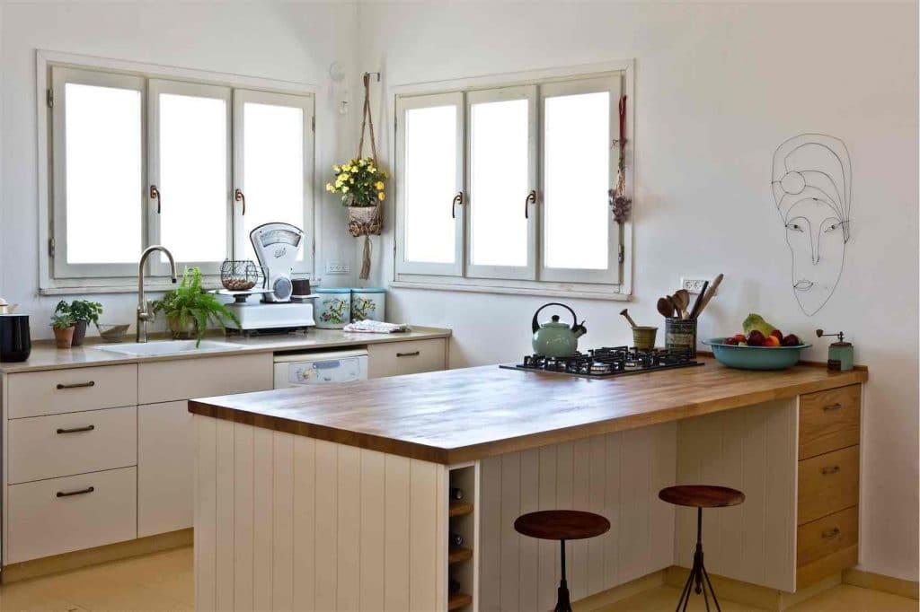 תכנון מטבח - תומר פרטוק מטבח כפרי